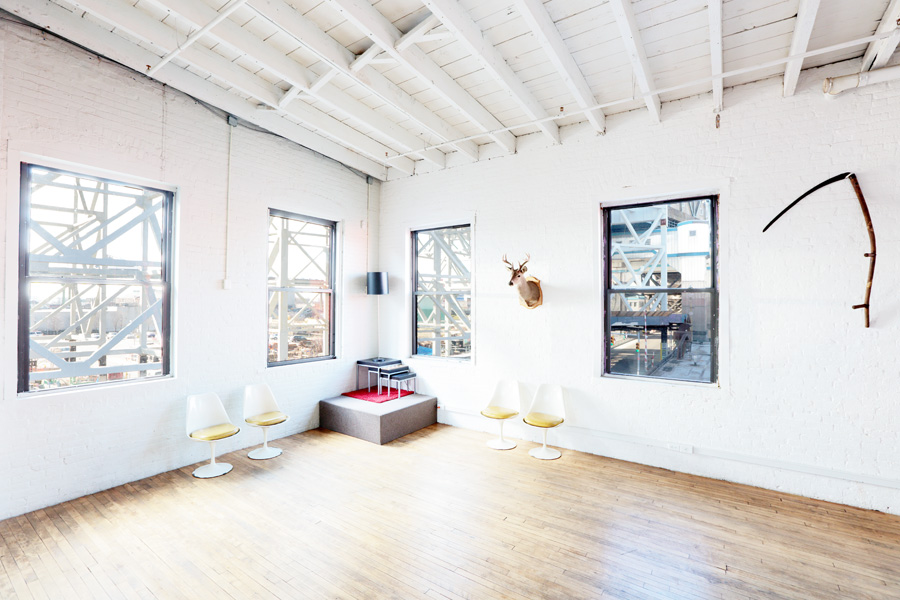 Gowanus Loft, interior view 2.