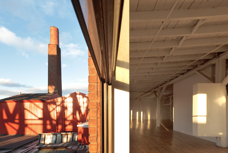Gowanus Loft, interior view 9.